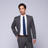 Privé by MaxMan Grey Solid Suit