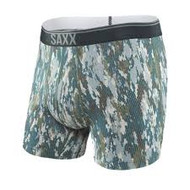 Saxx Quest Boxer Brief - Bark Camo