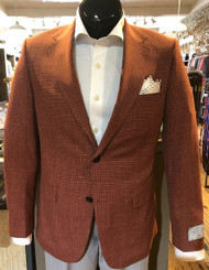 Trend by MaxMan Salmon Check Sport Coat