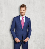 Trend by MaxMan Italian Blue Peak Lapel Suit