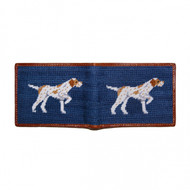 Smathers and Branson Pointer Bifold Wallet - Classic Navy