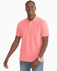 Southern Tide Skipjack Polo Shirt - Rouge Red