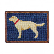 Smathers & Branson Card Wallet - Yellow Lab