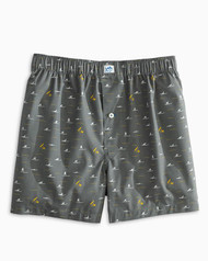 Southern Tide Totally Gnarly Boxer - Steel Grey