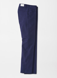 Peter Millar Crown Crafted Kirk Stretch Double-Weave Five-Pocket Pant - Navy