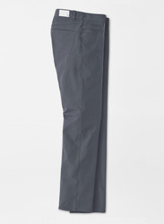 Peter Millar Crown Crafted Kirk Stretch Double-Weave Five-Pocket Pant - Iron