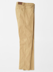 Peter Millar Ultimate Sateen Stretch Five-Pocket Pant - Khaki