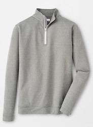 Peter Millar Perth Mélange Quarter-Zip - Smoke