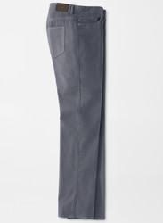 Peter Millar Ultimate Sateen Stretch Five-Pocket Pant - Iron