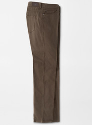 Peter Millar Ultimate Sateen Stretch Five-Pocket Pant - Chocolate