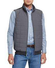 Peter Millar Crown Elite Hybrid Vest - Smoke