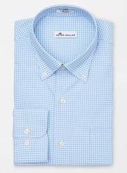 Peter Millar Mimi Performance Check Sport Shirt - Cottage Blue