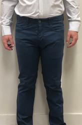 Profilo Calvin 5 Pocket Pant - Blue