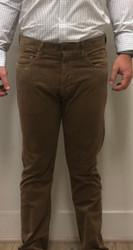 Profilo Calvin Corduroy 5 Pocket Pant - Butterscotch