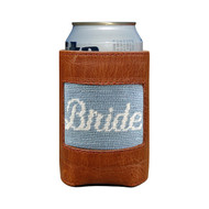 Smathers and Branson Can Cooler: Bride - Antique Blue