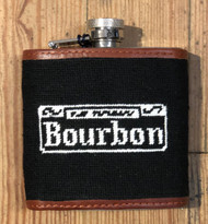 Smathers and Branson Flask - Bourbon Street - Black