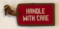 Smathers and Branson Luggage Tag - Handle With Care - Red