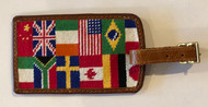 Smathers and Branson Luggage Tag - World Traveler - Multi