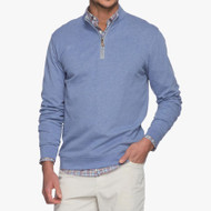 Johnnie-O Sully 1/4 Zip Pullover - Laguna Blue