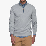Johnnie-O Sully 1/4 Zip Pullover - Light Gray