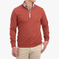 Johnnie-O Sully 1/4 Zip Pullover - Spice