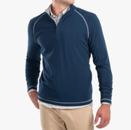 Johnnie-O Collier Bamboo Blend 1/4 Zip Pullover- Twilight