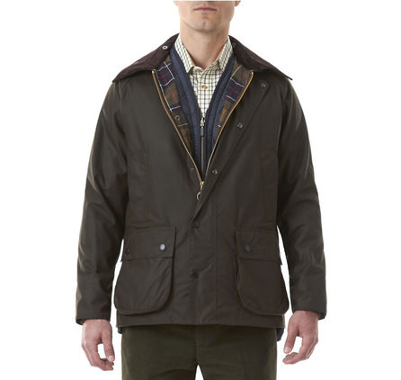 7f89e5df74e Barbour Classic Bedale Wax Mens Jacket - Olive - Craig Reagin Clothiers