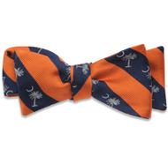 Palmetto Bowtie - Orange/Navy