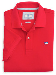 Southern Tide Skipjack Polo - Channel Marker Red