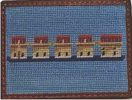 Smathers and Branson Craig Reagin Lake Murray Needlepoint Credit Card Wallet