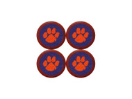 Smathers and Branson Needlepoint Coaster Set - Clemson