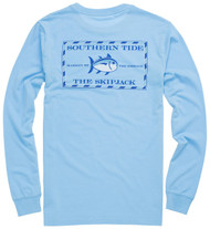 Southern Tide Long Sleeve Original Skipjack T-shirt - Ocean Channel