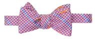 Southern Proper Fox Bow Tie: Purple