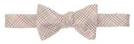 Southern Proper Herringbone Antler Bow Tie: Grey