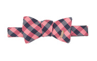 Southern Proper Feather Check Bow Tie: Red