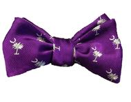 Palmetto Bowtie - Purple
