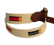 Smathers and Branson Rainbow Shotgun Shells Belt - Light Khaki