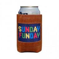 Smathers and Branson Needlepoint Coozie - Sunday Funday