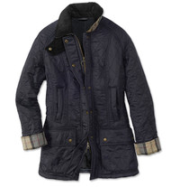 Barbour Beadnell Polarquilt Jacket - Navy/Navy