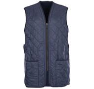 Barbour Polarquilt Waistcoat/Zip In Liner - Navy