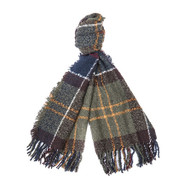 Barbour Boucle Scarf - Classic Tartan