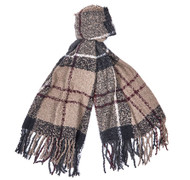 Barbour Boucle Scarf - Dress Tartan