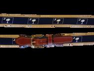 Palmetto Canvas Belt - Navy