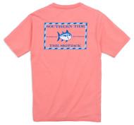 Southern Tide Original Skipjack T-Shirt - Light Coral