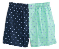 Southern Tide Two-Tone Skipjack Boxers- True Navy