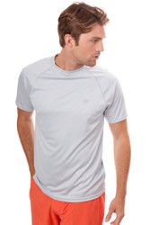 Southern Tide Tide To Trail Performance Tee - Slate