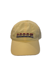 Smathers and Branson Lake Murray Needlepoint Hat - Butter