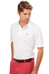 Southern Tide Driver Solid Polo - Classic White
