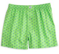 Southern Tide Skipjack Boxers - Summer Green