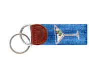 Smathers and Branson Needlepoint Key Fob - Shrimp Cocktail